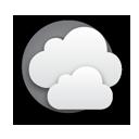 Vereinzelte Wolken